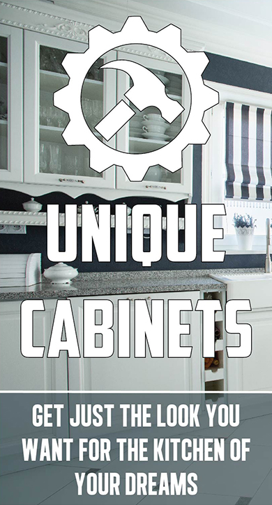 Cabinets image and link to cabinets page