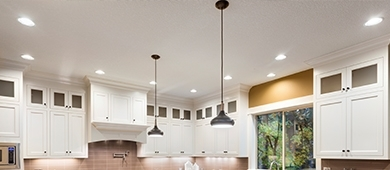 Cabinets and lighting image